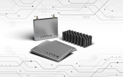 PRESS RELEASE: Lyten Launches Lithium-Sulfur Battery Platform