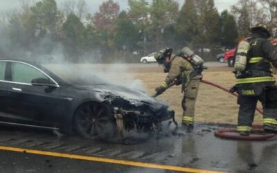 Lithium Battery Fires – A Burning Issue