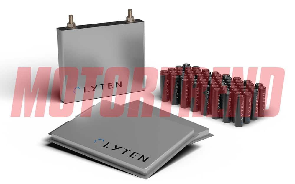Motortrend: Lyten Lithium-Sulfur Batteries
